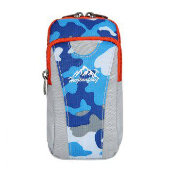 Lightweight Camouflage Arm Bag - BLUE CAMOUFLAGE BLUE CAMOUFLAGE