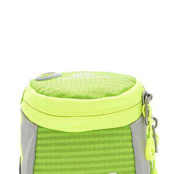 Round Letter Pattern Arm Bag -  GREEN