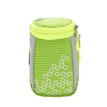 Round Letter Pattern Arm Bag - GREEN GREEN