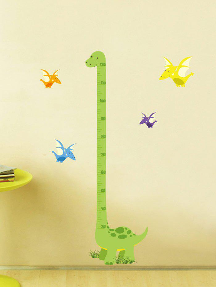 Cartoon Dinosaur Measuring Height Ruler Wall Decals игрушка good dinosaur 62006