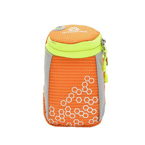 Round Letter Pattern Arm Bag - ORANGE