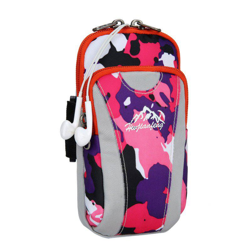 Lightweight Camouflage Arm Bag - DEEP PINK