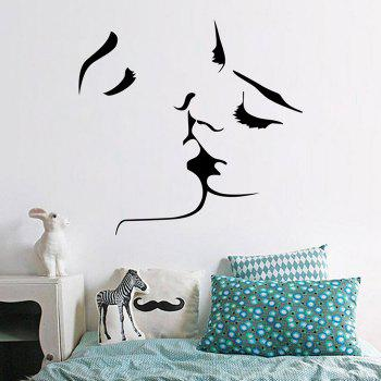 Kiss Removable Wall Art Stickers