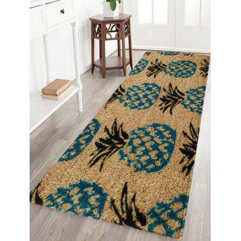 17 Off 2019 Velvet Pineapple Pattern Area Rug In