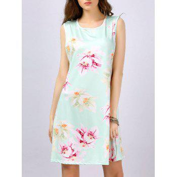 Sleeveless Floral Mini Sundress
