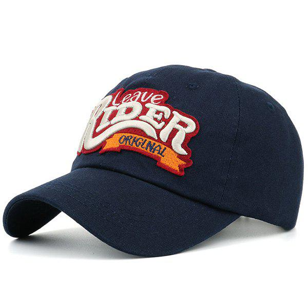 Sunproof Letters Embroidered Baseball Hat letters behind gesture embroidered baseball hat