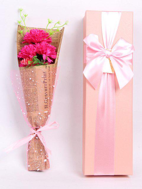 Creative Mother's Day Gift Soap Carnation 5PCS Artificial Flowers - TUTTI FRUTTI