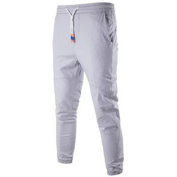 Slim Fit Drawstring Jogger Pants