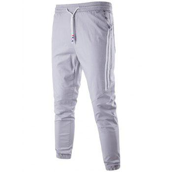 Casual Stripe Trim Jogger Pants