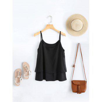 Double Layered Cami Tank Top