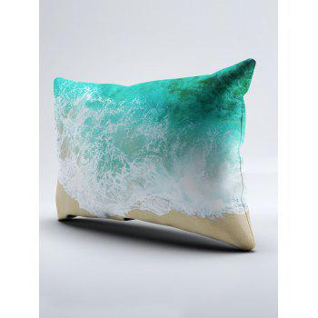 Sea Tide Two Side Printing Washable Duvet Cover and Pillowcase - TWIN TWIN