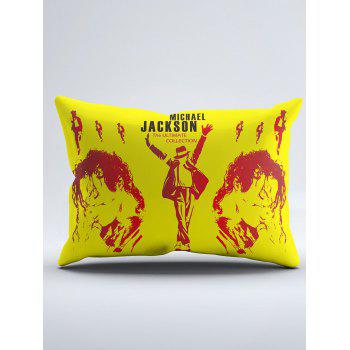 MICHAEL JACKSON Washable Duvet Cover and Pillowcase - YELLOW YELLOW