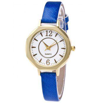 Glitter Strap Number Quartz Watch