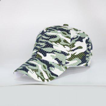 Polka Dot Camouflage Outdoor Baseball Hat
