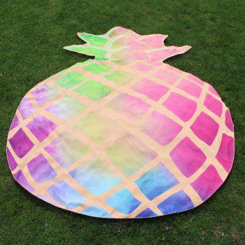 Cutting Pineapple Shape Ombre Beach Throw - PINK PINK
