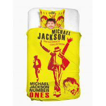 MICHAEL JACKSON Washable Duvet Cover and Pillowcase
