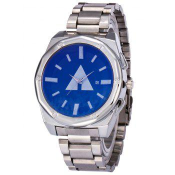 Geometric Date Quartz Watch