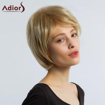 Adiors Layered Short Straight Side Bang Synthetic Wig