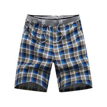 Summer Plaid Boardshorts