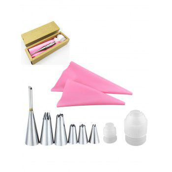 Squeeze Cream Tool Stainless Steel Pastry Piping Nozzles Set