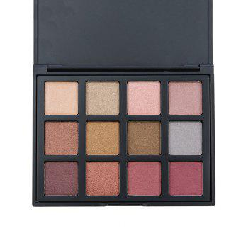 12 Colours Shimmer Matte Eyeshadow Palette -