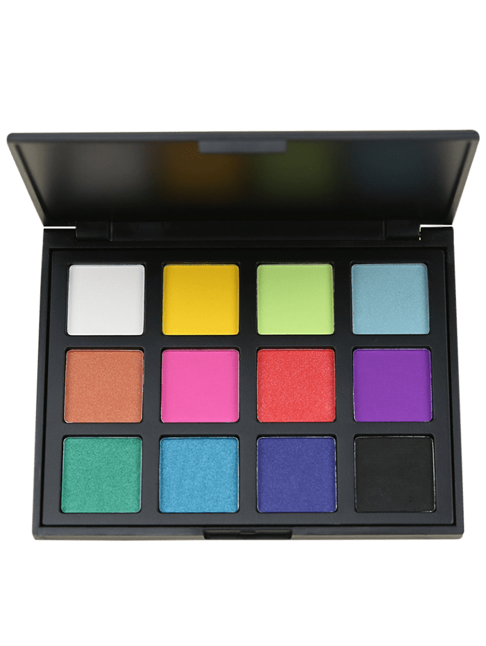 12 Colours Shimmer Matte Eyeshadow Palette wholesale 100