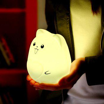 Color Change Cartoon Pet Silicone Night Light