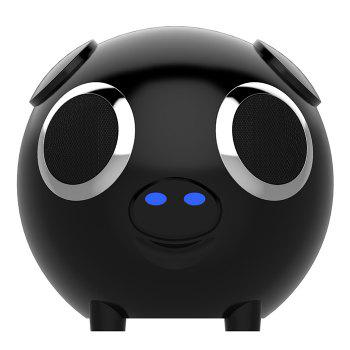 2 In 1 DUDU Pig Power Bank Bluetooth Speaker