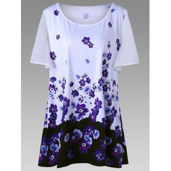 Floral Plus Size T-Shirt