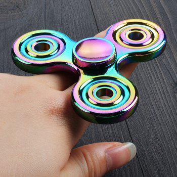 Stress Relief Toy Colorful Finger Gyro Finger Spinner - COLORMIX