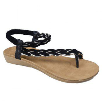 Elastic Band Weaving Sandals