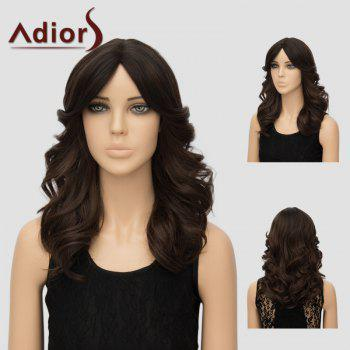 Adiors Long Wavy Center Parting Layered Synthetic Wig