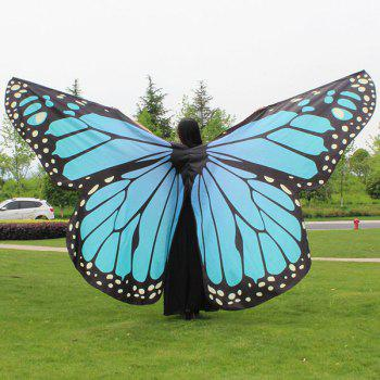 Water Resistant Butterfly Wing Cape Chiffon Pashmina