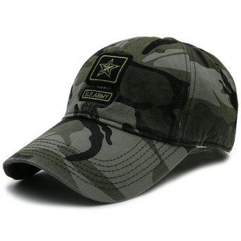 Star Embellished Army Element Baseball Hat