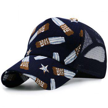 Mesh American Independence Day Style Baseball Hat