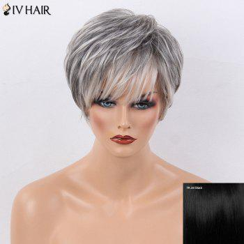 Wondrous Human Hair Wigs Cheap Real Human Hair Wigs For Black White Hairstyles For Men Maxibearus
