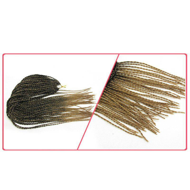 Longue traction Afro Havana Mambo Twist Hair Extension - Graduel Brun