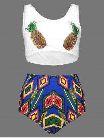 151df2a5002 2019 Pineapple Print Bikini Online Store. Best Pineapple Print ...