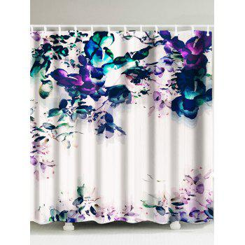 Painting Flower Shower Curtain