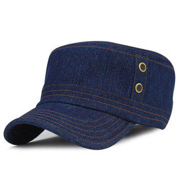 Outdoor Sunscreen Jeans Flat Top Hat