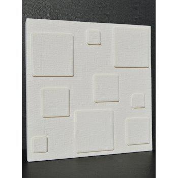 Eco-Friendly 3D Embossed Brick Stickers For Wall