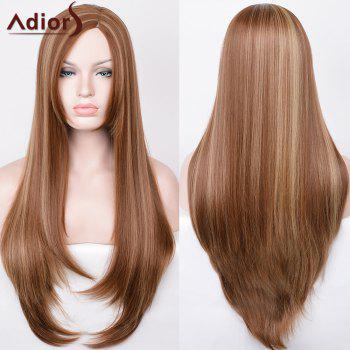 Adiors Ultra Long Side Part Hightlight Straight Synthetic Wig