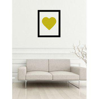 Photo Frame Heart Removable Wall Sticker