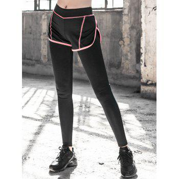 Spliced Skinny Running Pants