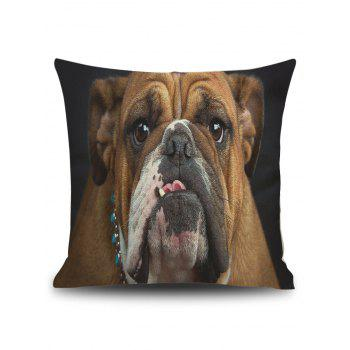 Pug Print Decorative Pillow Cover Case