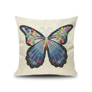 Art Butterfly Decorative Throw Pillow Cover