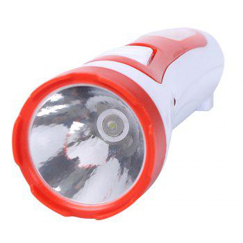 Multifunctional Rechargeable LED Flashlight -  RED