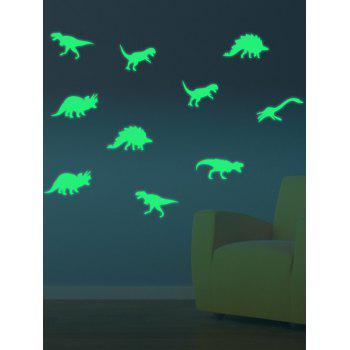 Cartoon Dinosaur Luminous Decorative Wall Art Stickers