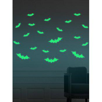 Cartoon Noctilucence Bat Wall Stickers For Kids