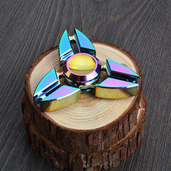 Colorful Triangle Finger Gyro Fidget Finger Spinner - COLORMIX
